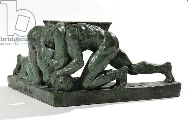 Wrestlers (bronze)