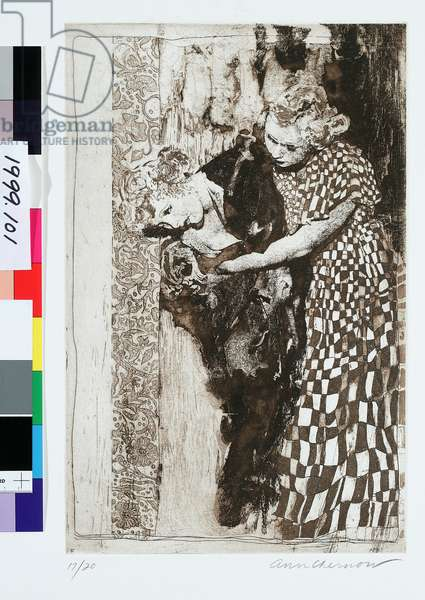 It Could Only Happen In Brooklyn, 1997 (etching & aquatint)