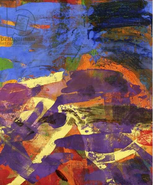 Luohan XI (Breath), 2005 (oil on linen)