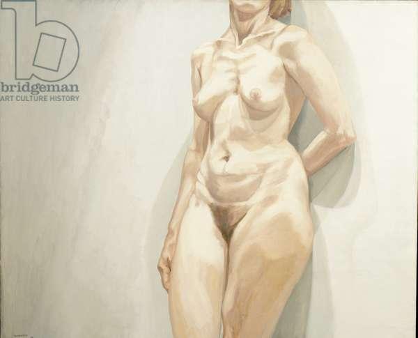 Nude Torso, 1963 (oil on canvas)