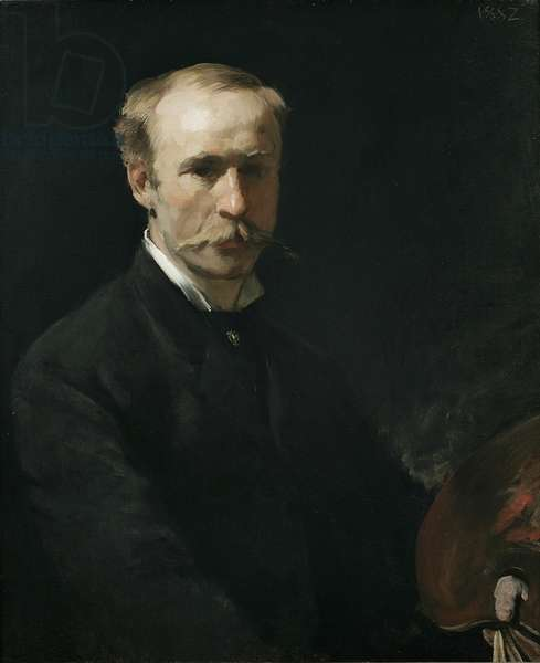 Frederick Dielman, 1882 (oil on canvas)