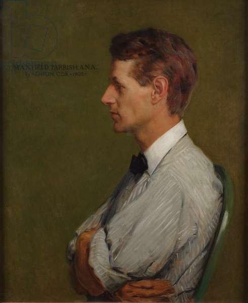 Maxfield Parrish, 1905 (oil on canvas)