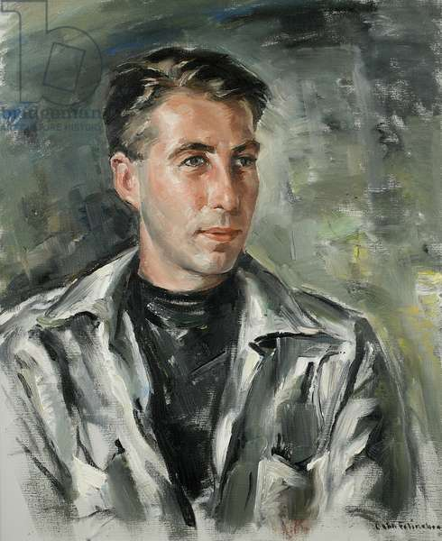 William Thon (oil on canvas)
