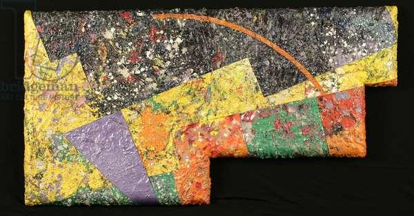Frieze, 1983 (acrylic on nine canvases)