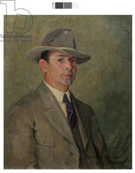 Portrait of Oscar E. Berninghaus, 1926 (oil on canvas)