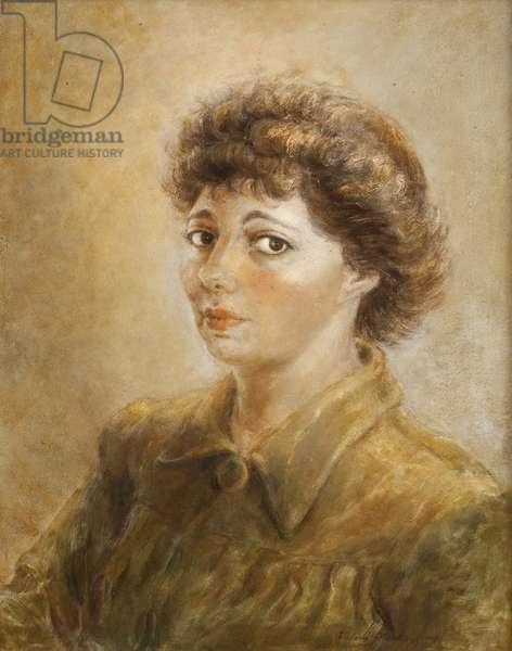Self-Portrait, 1943 (oil on masonite)