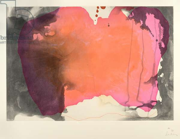 Universal Limited Art Editions, John Szoke Editions, Causeway, 2001 (colour spit-bite aquatint with softground)
