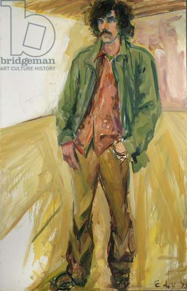 Portrait of Joe Montgomery, 1978 (oil on canvas)