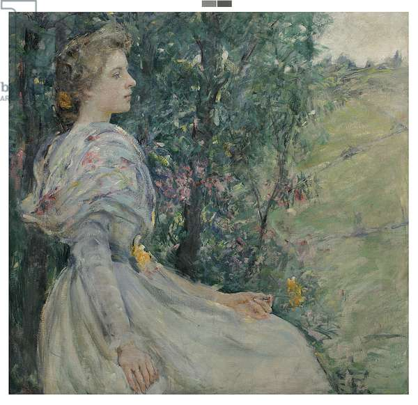 Daffodils (oil on canvas)