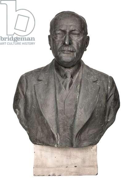 Cass Gilbert, 1878-1949 (bronze)