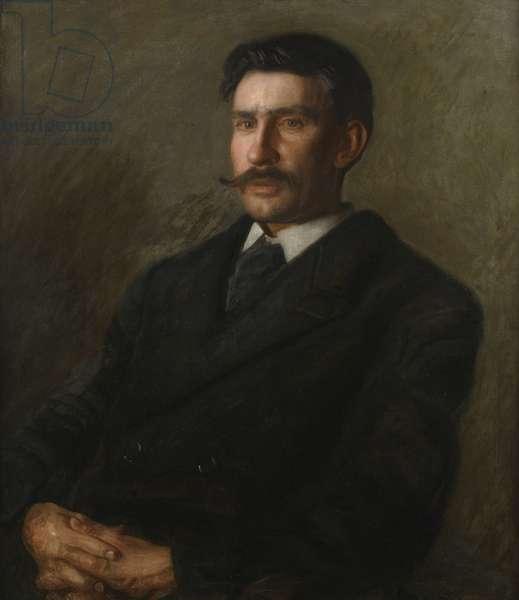 Edward W. Redfield, 1905 (oil on canvas)