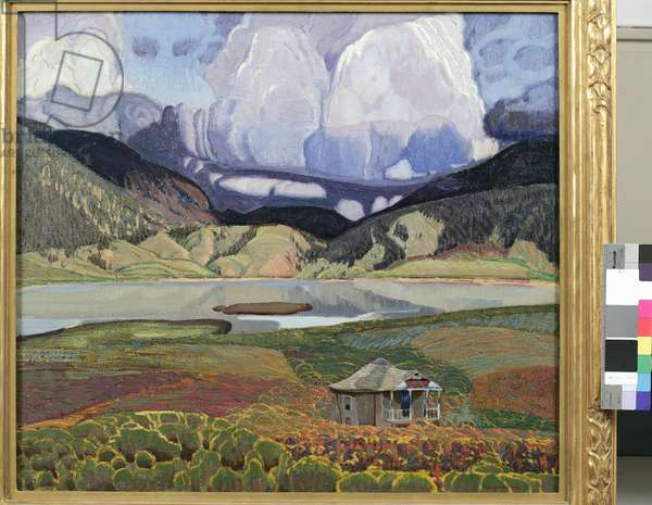 The Lake, ca 1923 (oil on canvas)