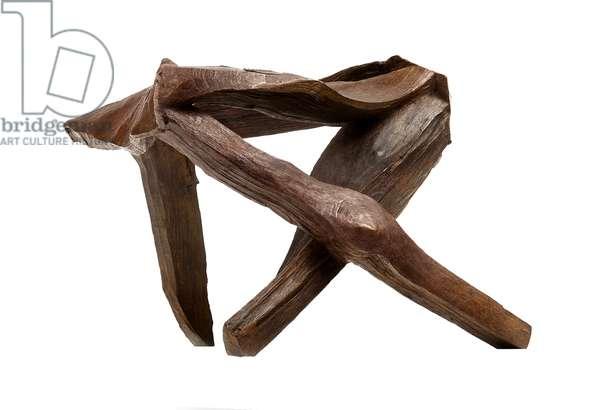 Knocknarea #1 (Study for Knocknarea), 1998 (bronze cast from wood)