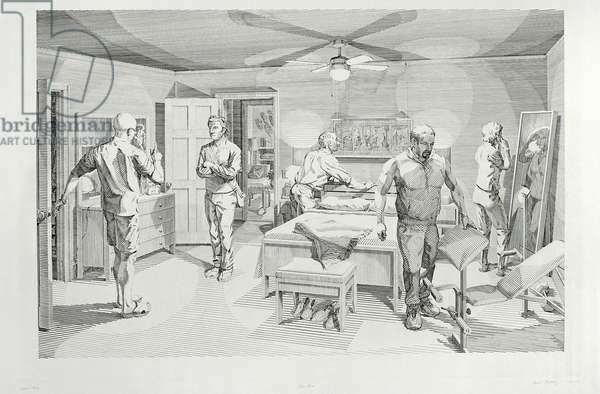 Open House: Five Engraved Scenes, 2008 (engraving)
