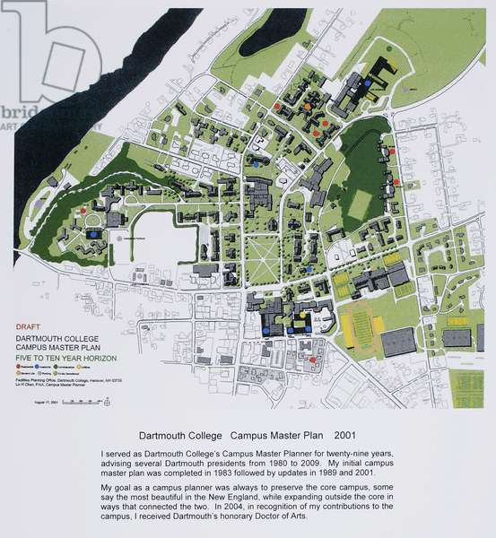 Selected Works of Architecture and Campus Planning, 1965-2018, 2011 (colour inkjet print)