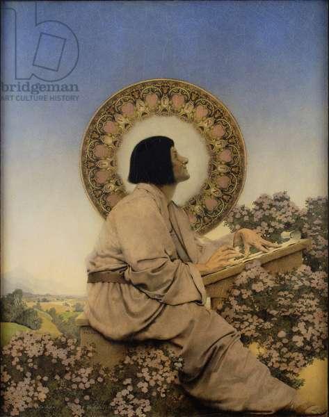 Saint Valentine, 1904 (tempera on gessoed panel)