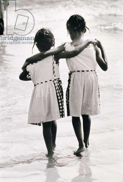 Coney Island Sisters, c.1953-64 (b/w photo)