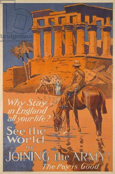 Why Stay in England all your Life?, 1919-20 (colour litho)