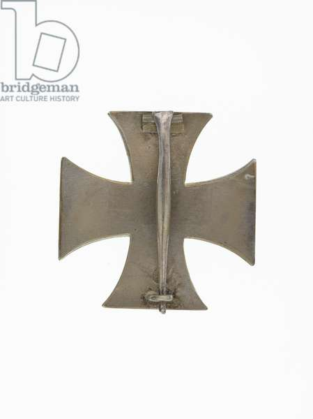 Order of the Iron Cross; badge of the 1st Class, 1914-1918 (metal)