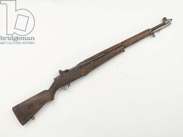 US Garand .30 inch M1 self-loading rifle used by the Irish Republican Army (IRA), 1982 circa