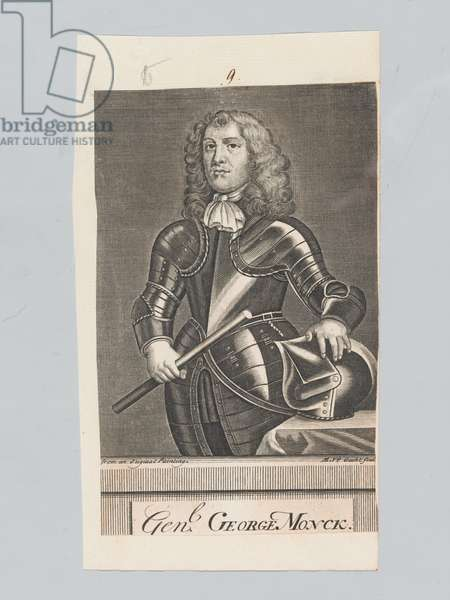 General George Monck [sic], 1642 circa (engraving)