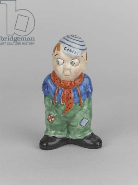 Conchy (hand-painted ceramic)