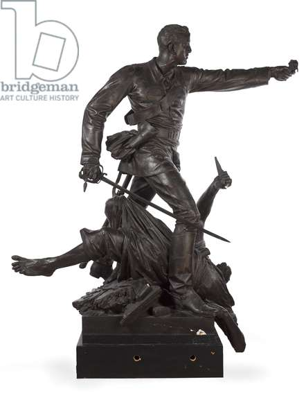 Statue of Lieutenant Walter Hamilton, Queen's Own Corps of Guides, Punjab Frontier Force, 1879 (statue)