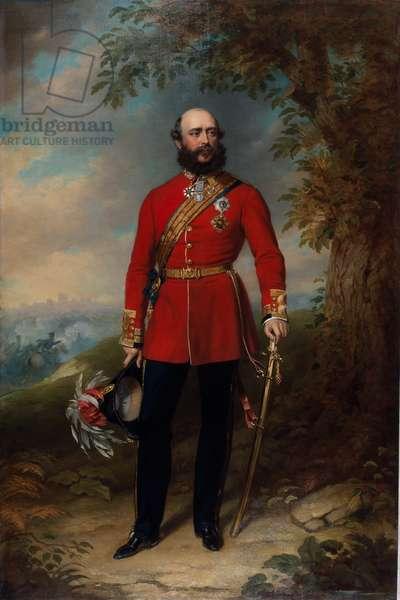 Field Marshal HRH George William Frederick Charles, 2nd Duke of Cambridge, 1862 circa (oil on canvas)