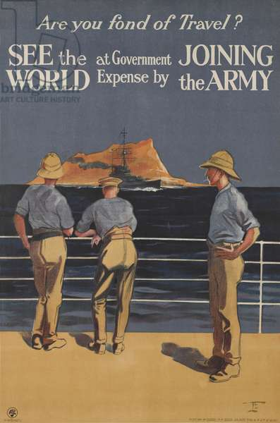 Are You Fond of Travel?, 1919-20 (colour litho)