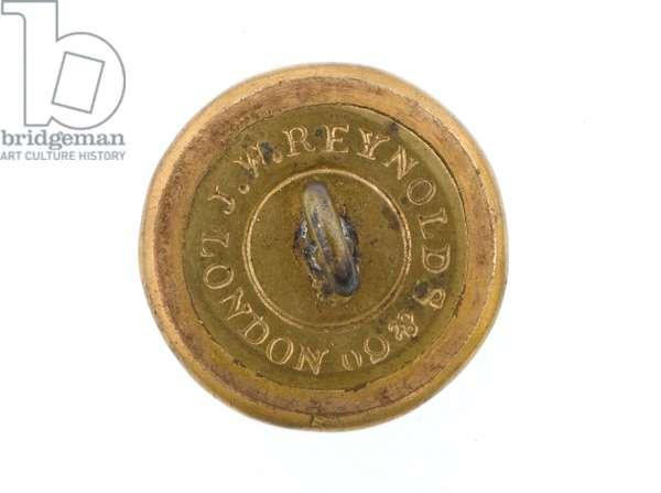 Button, Bengal Staff Corps, 1861-1876. (gilt)