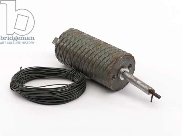 TMR-2A anti-personnel mine used by the former Yugoslav Army, 1995 circa