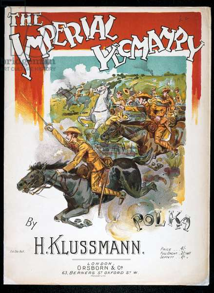 The Imperial Yeomanry Polka, by H. Klussmann, c.1900 (colour litho)