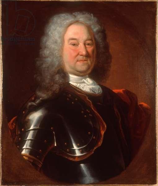 Captain Robert Parker, The Royal Regiment of Ireland, c.1720 (oil on canvas)