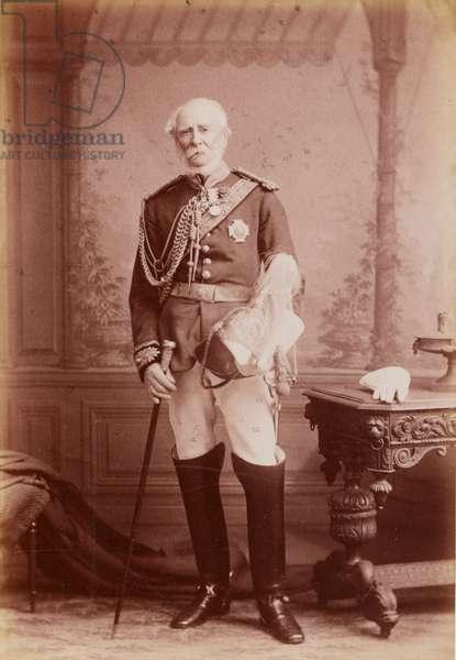 Charles Marie Remusat, 1856 (b/w photo)