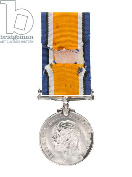 British War Medal 1914-1920, awarded to Dame Florence Leach, Controller in Chief of the Queen Mary's Army Auxiliary Corps. (metal)