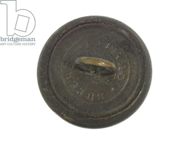 Button, Cachar Volunteer Rifles, 1883-1886 (brass)