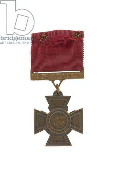 Victoria Cross, 1857, Captain John Grant Malcolmson, 3rd Regiment of Bombay Light Cavalry (metal)