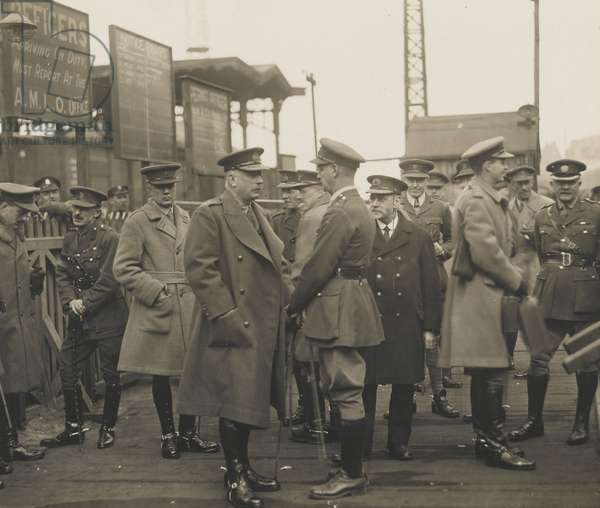 Field Marshal Earl Haig, 1919 (b/w photo)