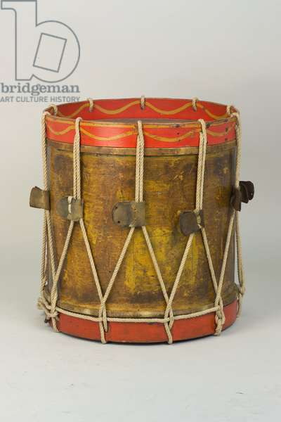 Side drum used by the 42nd (Royal Highland) Regiment of Foot, 1815 circa