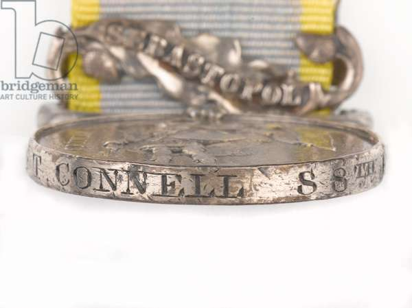 Crimea Medal 1854-56, Private Thomas Connell, 88th Regiment of Foot (Connaught Rangers) (Crimea Medal 1854-56, clasp)