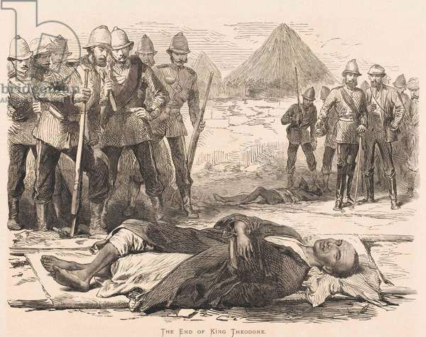 The End of King Theodore, 1868 (engraving)