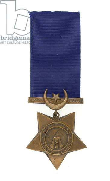 Khedive's Egyptian Star 1882-91, Major General Euston Henry Sartorius, 59th (2nd Nottinghamshire) Regiment (metal)