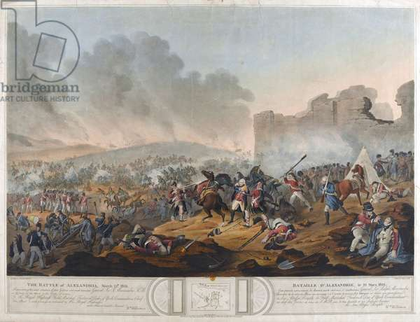 Battle of Alexandria, 21st March 1801, engraved by J. Mitan and Charles Turner, published by E. Orme, London, 1804 (engraving)
