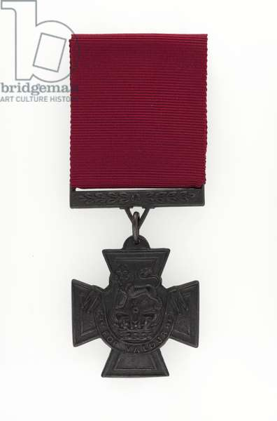 Replica Victoria Cross awarded to Private John Connors VC, 3rd (The East Kent) Regiment of Foot (The Buffs) (metal)