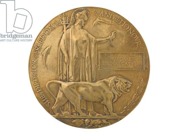 Commemorative Medallion 1914-1918 (metal)