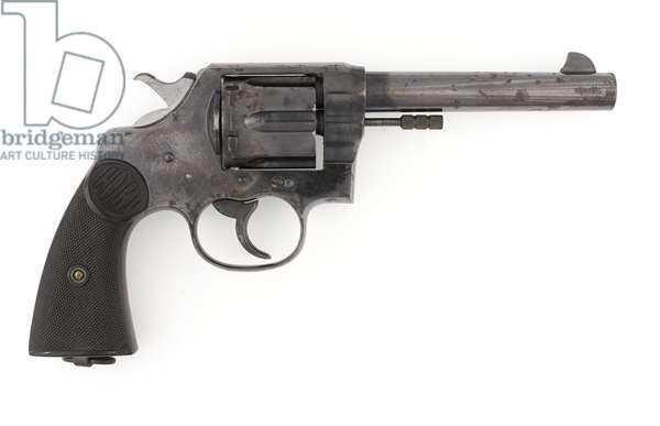 Colt New Service Eley .455 inch centre-fire revolver, model 1884 (revolver, Colt, .455 in M1884 New Service Eley)