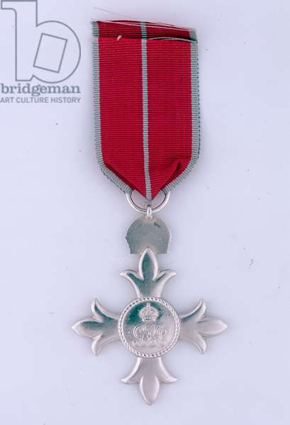 Order of the British Empire, Colonel John Anthony Stafford Fearfield, Royal Signals and Force 136, Special Operations Executive, 1947 (metal)