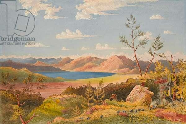Lake Ashangi, 1868 (w/c)