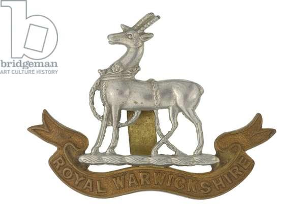 Cap badge, c.1940 (metal)