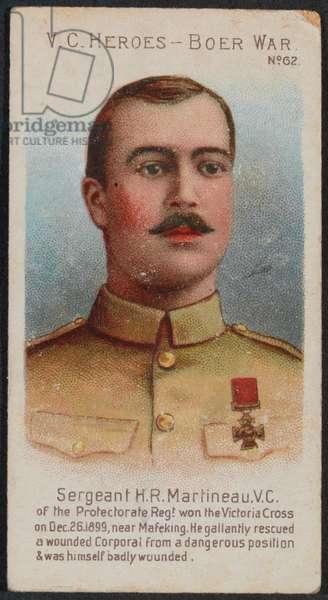 'Sergeant H.R. Martineau, VC' (litho)